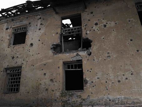 On Location: filming in Eastern Ukraine