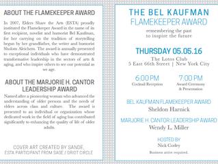 The Marjorie H. Cantor Leadership Award