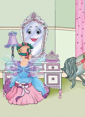 Molly Mirror and Ella the Enchanted Princess