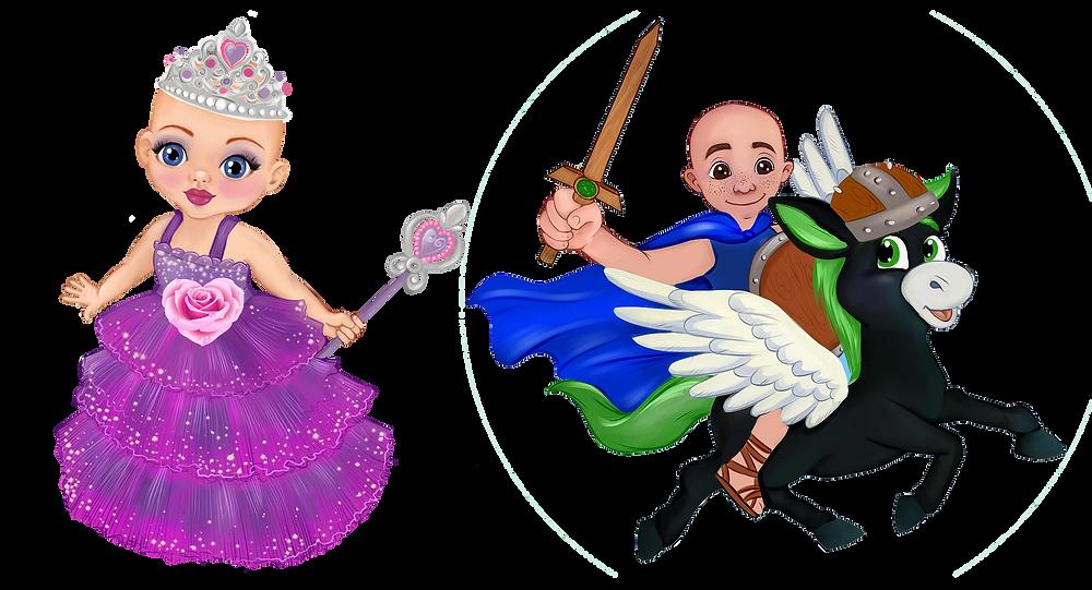 Ella The Enchanted Princess and Leo & Lucas