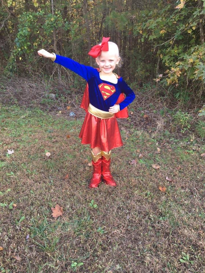 Maci is a real Superhero