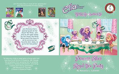 Princess Ella's Royal Tea Party Ella The Enchanted Princess