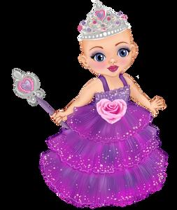 Princess Ella - Bald Princess