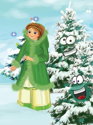Nanny The Ugly Christmas Tree