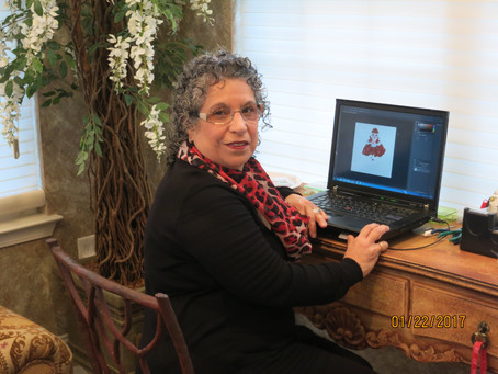 Meet Rosaria L Calafati - Children's Story Author and Illustrator of Ella The Enchanted Princess