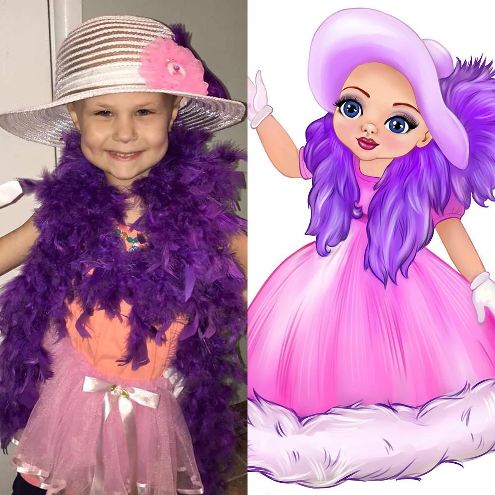 Taylor Dressed Up Like Princess Ella
