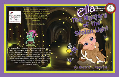 The Mystery of the Stolen Light Ella The Enchanted Princess