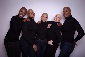 Nell Coleman and The Baldie Movement Team