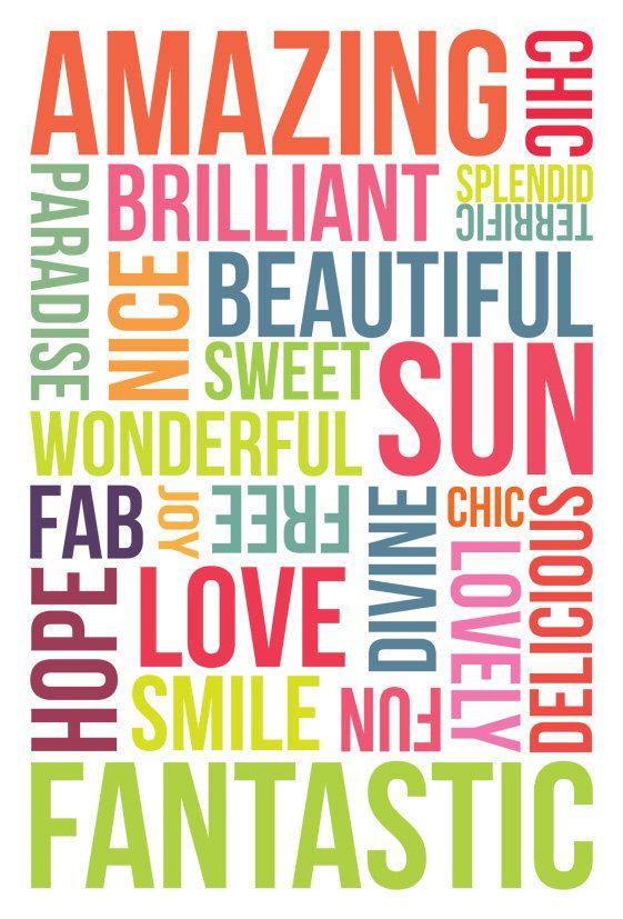 Positive Words - Ella The Enchanted Princess