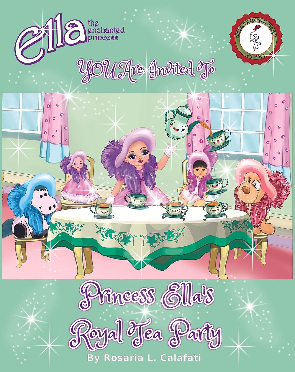Princess Ella's Magical Tea Pot and Tea Cups at her Royal Tea Party.