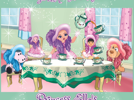You Are Invited to Princess Ella's Royal Tea Party