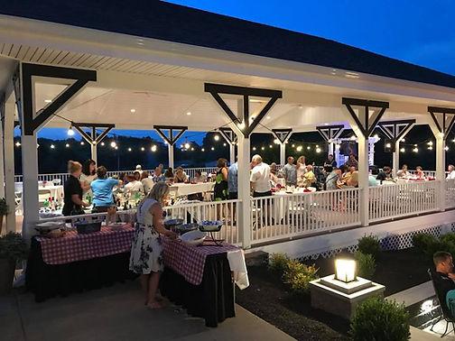 Piney Branch Golf Party on Pavilion
