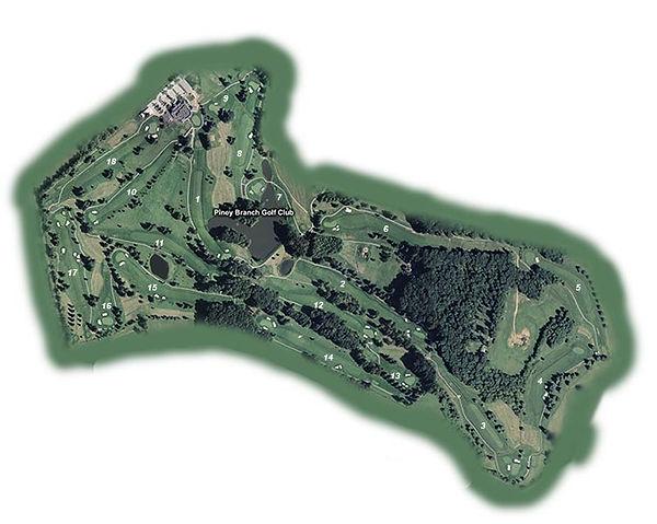 Golf Course Map - Oiney Branch Golf Club