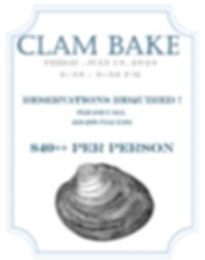 Piney Branch 2020 Clam Bake Saver