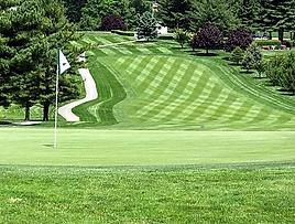 Piney Branch Golf Hole 10