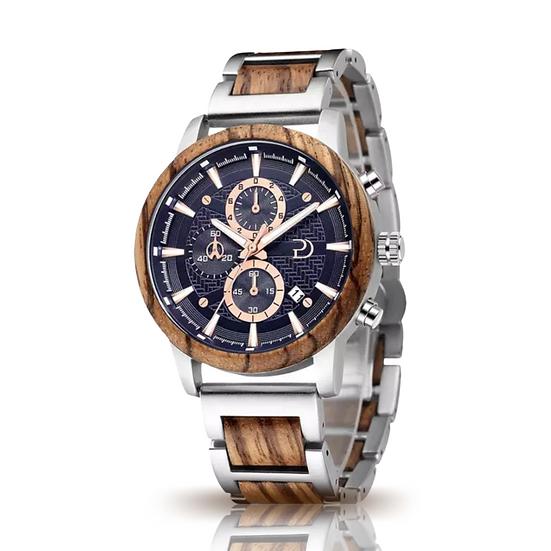 Parker Durban Havana Watch (Zebrawood)