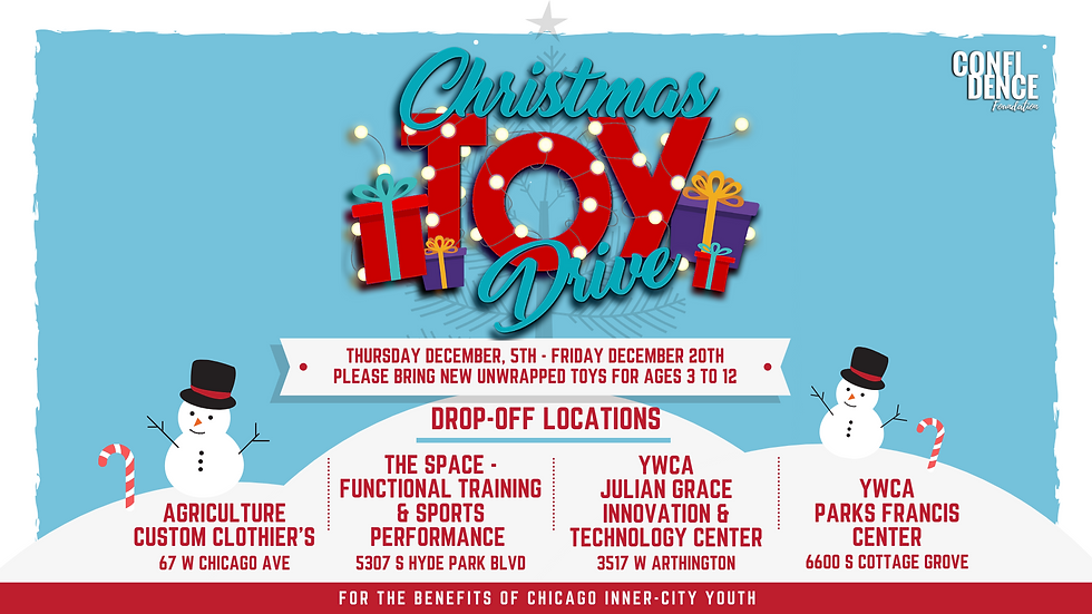 CONFIDENCE Foundation Toy Drive