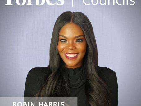 Designer Robin Harris Accepted Into Forbes Council