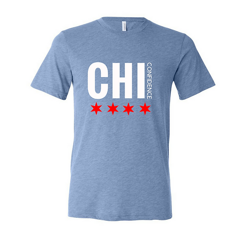CHI CONFIDENCE Tee (CHI Blue)