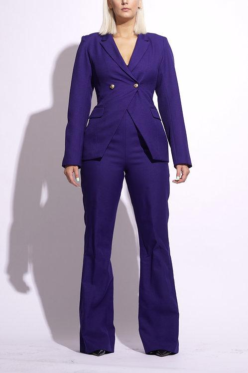 Regal Plum Suit