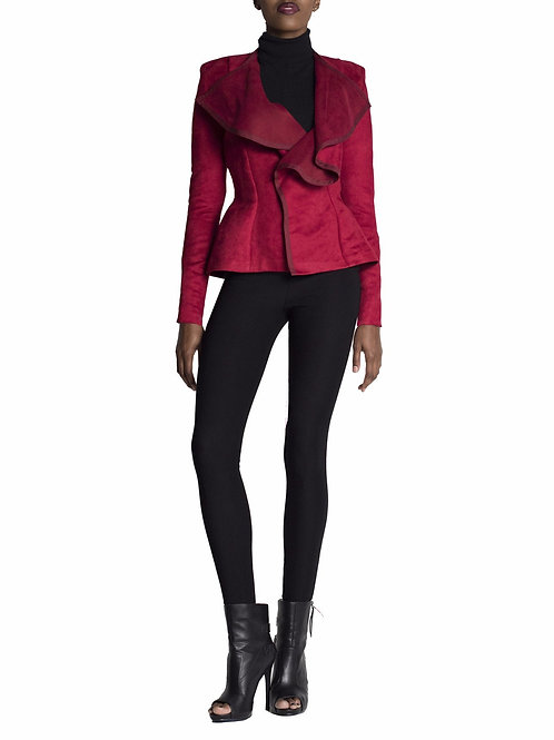 Ari Contrast Trim Jacket