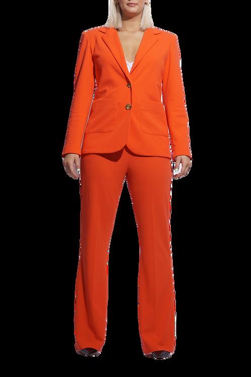 Bold Orange Suit