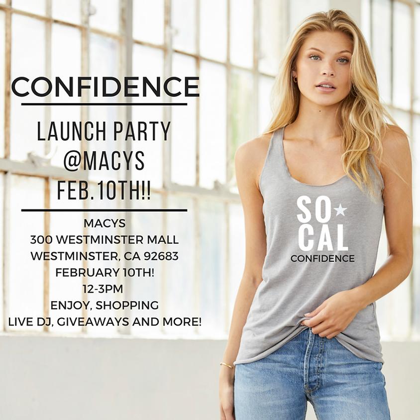 Confidence Pop Up Shop @MACY'S