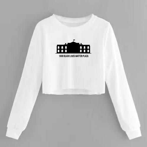 BLM Plaza Crop Sweatshirt