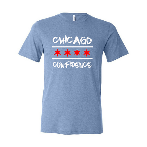 Chicago CONFIDENCE Tee (CHI Blue)