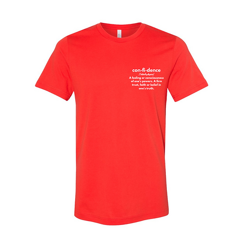Confidence Defined Tee