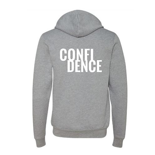 CONFIDENCE Zip Hoodie
