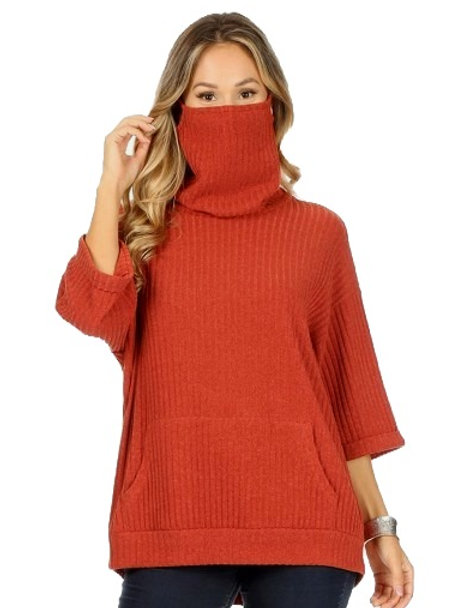 Sweater Face Mask