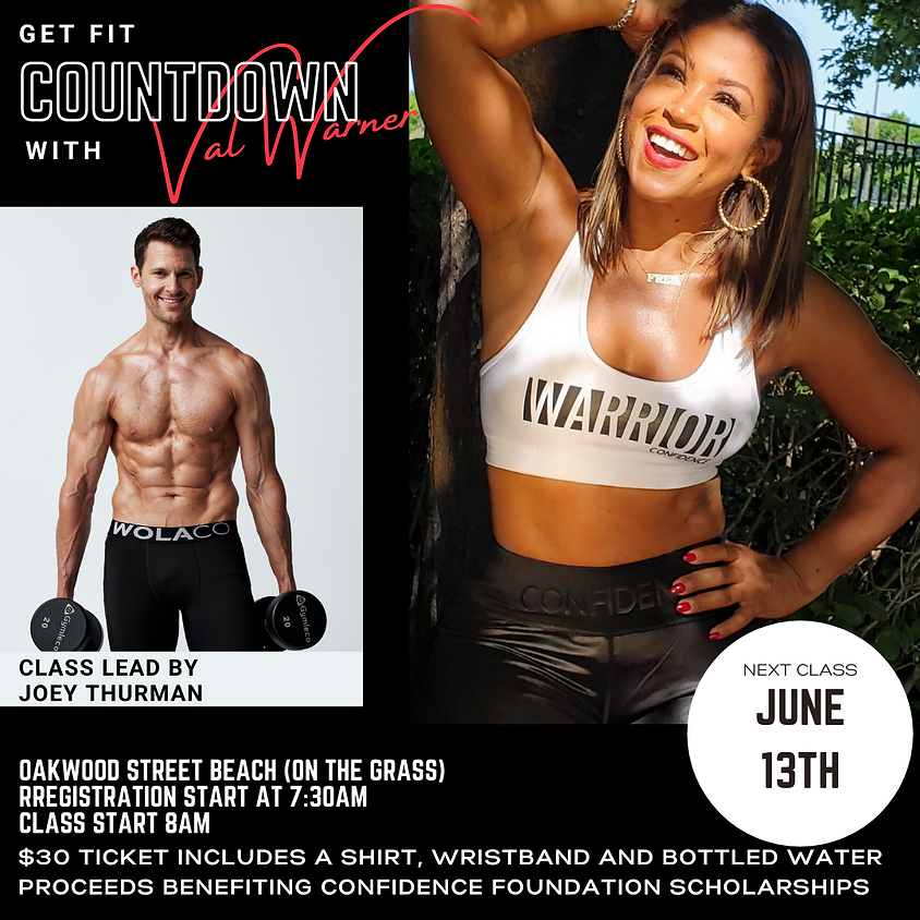 Get Fit Countdown With Val (Round 4)