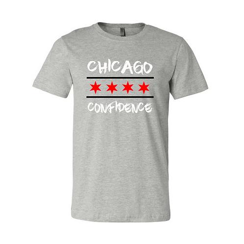 Chicago CONFIDENCE Tee (Grey)