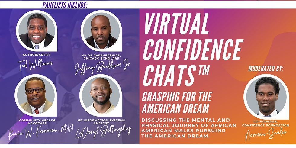 Virtual Confidence Chat™ : Grasping For The American Dream