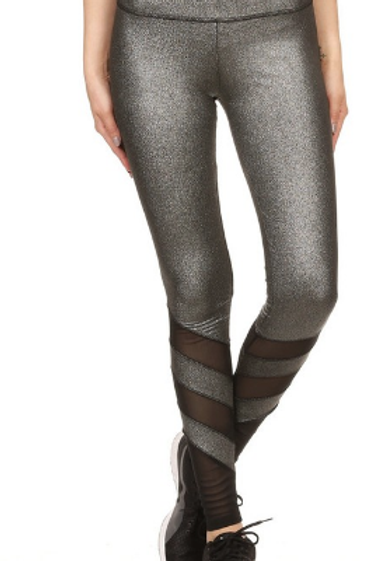 Metallic Yoga Pant
