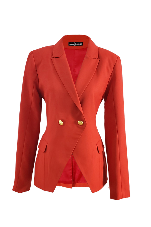 Executive Blazer (Deep orange)