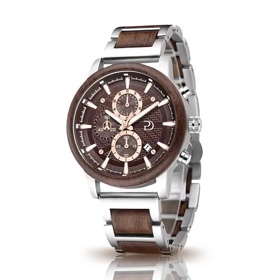 Parker Durban Havana Watch (Walnut)
