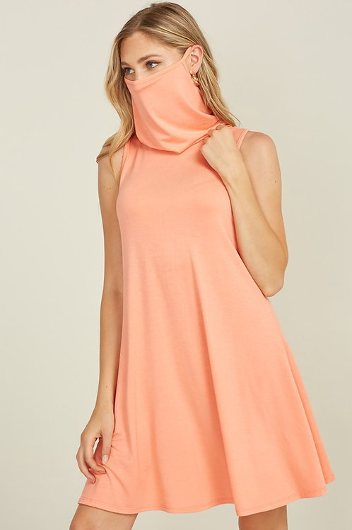 Dress Face Covering (Coral)