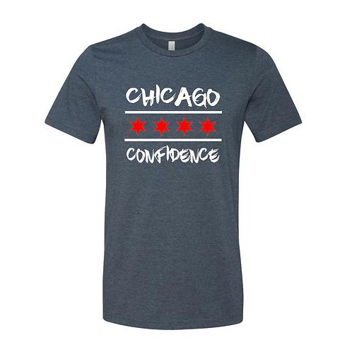 Chicago CONFIDENCE Tee (Navy)