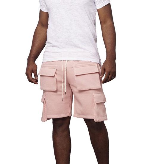 Cargo Shorts (Pink)