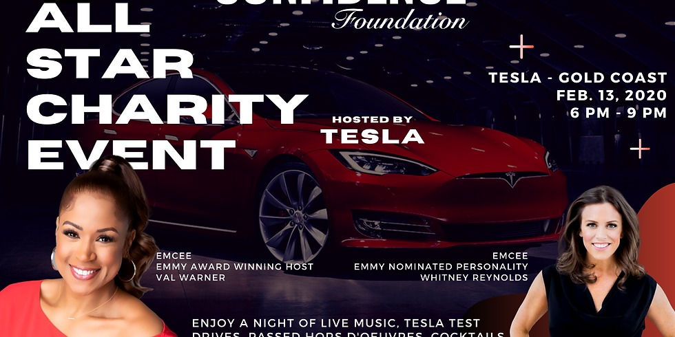CONFIDENCE Foundation + Tesla All Star Charity & Auction Event