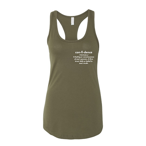 Confidence Defined Tank