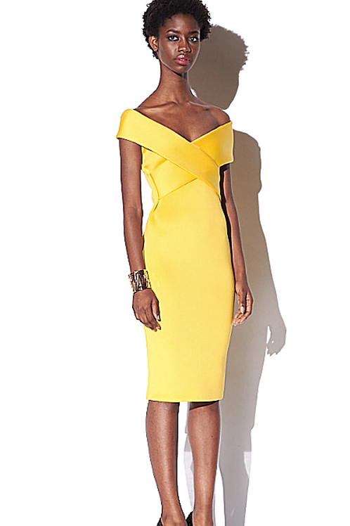 Off Shoulder(Lemon) Dress