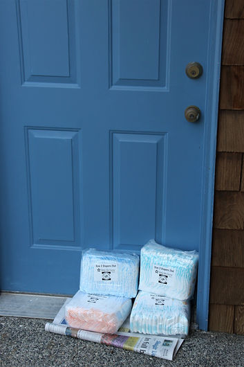Photo - Diapers at the Door (Michelle Sk