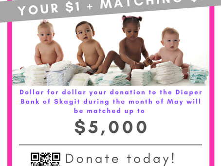 DOUBLE YOUR IMPACT in May!