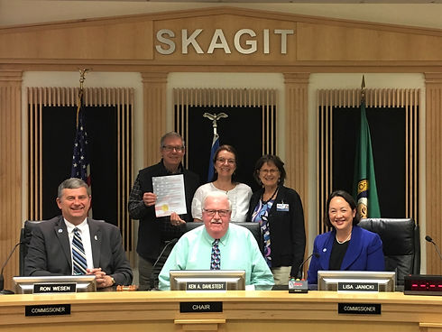 Skagit co commisioners Proclamation 2018