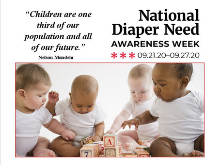 Washington Governor Proclaims this week DIAPER NEED AWARENESS week