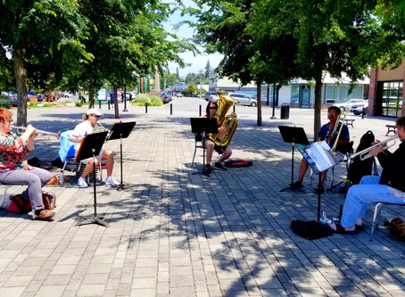 NW Tower Brass holds Impromptu Fundraiser for Diaper Bank of Skagit County