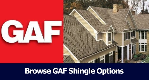 GAF Shingle Options
